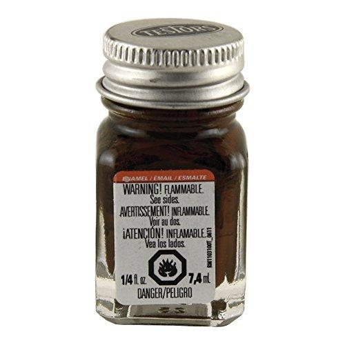(Testors Enamel 1/4oz Bottle Light Brown)