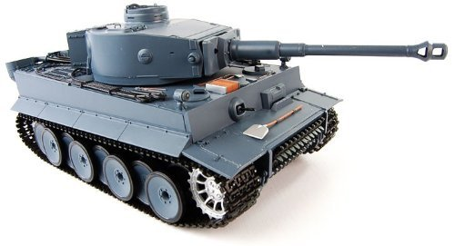 1:16 RC German Tiger I Tank Remote Control w/ Sound and Smok