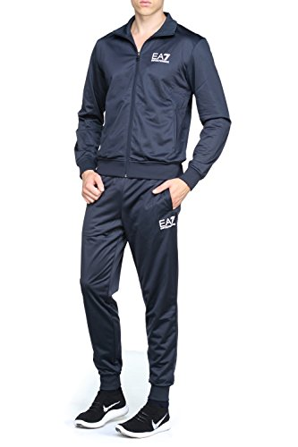 Emporio Armani EA7 Men's Full Zip Poly Small Logo Tracksuit