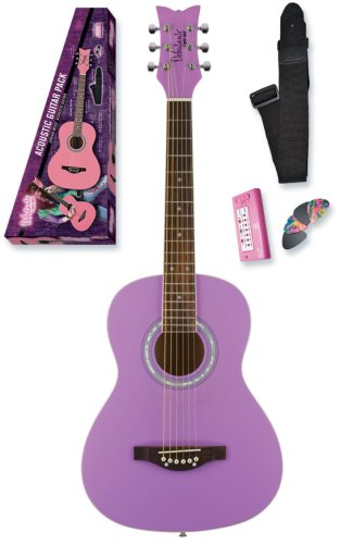 Daisy Rock Debutante Jr. Miss Acoustic Short Scale Pack, Pop