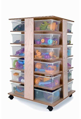 Whitney Brothers 24 Tray Tower Childrens Storage Furniture