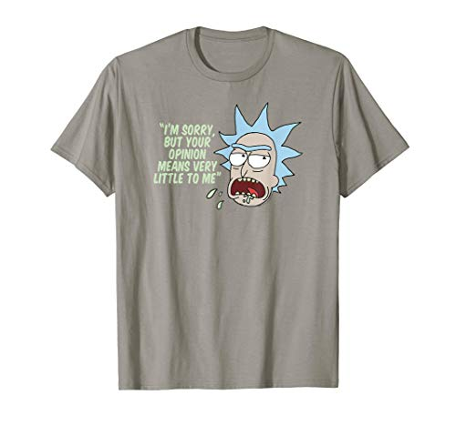 Rick and Morty Your Opinion Means Very Little to Me T-Shirt