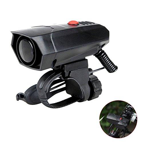 GuDoQi Loud Electric Bike Horn 2 Modes Sound 110Db Bicycle Cycling Handlebar Ring Alarm Bells with Free Screwdriver by GuDoQi