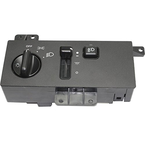 Headlight Switch compatible with GRAND CHEROKEE 94-98 w/Fog Lights 14 Male Terminals Blade Type