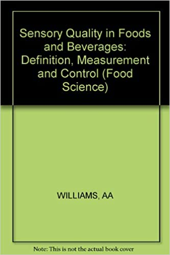 Sensory Quality In Foods And Beverages Definition Measurement
