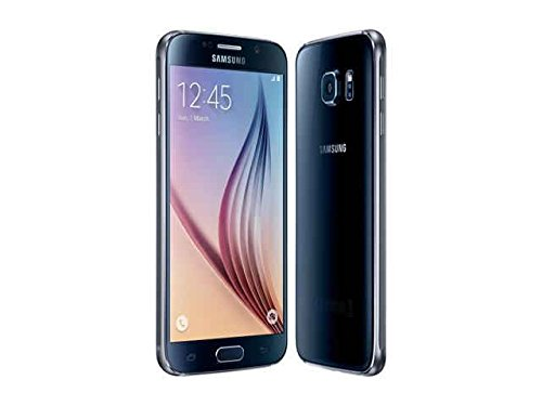 Samsung Galaxy S6 G920 32GB Factory Unlocked Cell Phone for GSM Compatible - Black