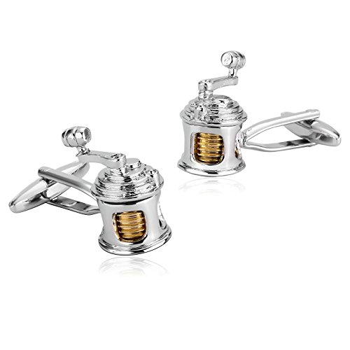 Adisaer Stainless Steel Cuff links for Men Silver Gold Fishing Reel Men Shirt Cufflink Business Gift