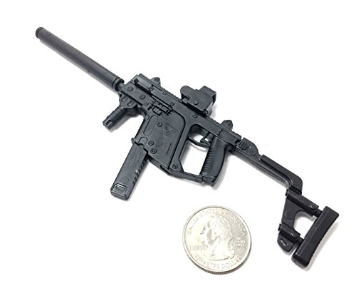 1/6 Scale KRISS Vector Submachine Gun US Army Miniature Toy Guns Model Fit For 12