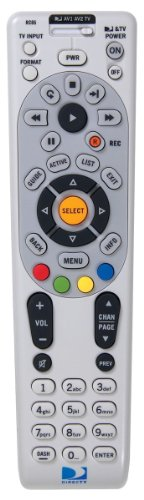 DirecTV RC65 4-Device Universal IR Remote by Direct TV
