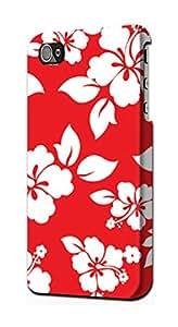 E1949 Hawaiian Hibiscus Pattern Funda Carcasa Case para IPHONE 5 5S SE