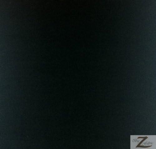 [해외]단색 폴리 코튼 원단 - 블랙 - 판매 BTY 폴리코튼 58\u201d60 너비 (P187) / 단색 폴리 코튼 원단 - 블랙 - 판매 BTY 폴리코튼 58\u201d60 너비 (P187)