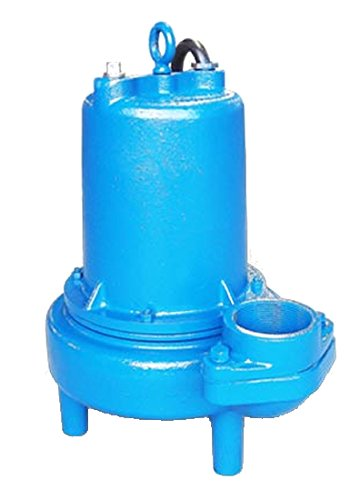 Barmesa Pumps 3BSE152SS Submersible Sewage Single Seal Non-Clog 3