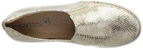 Caprice Damen 24662 Slipper Gold (Lt Gold Rep Me 953)