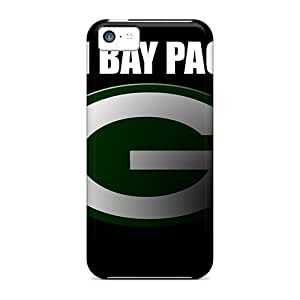 Awesome Green Bay Packers Flip Cases With Fashion Design For Iphone 5c