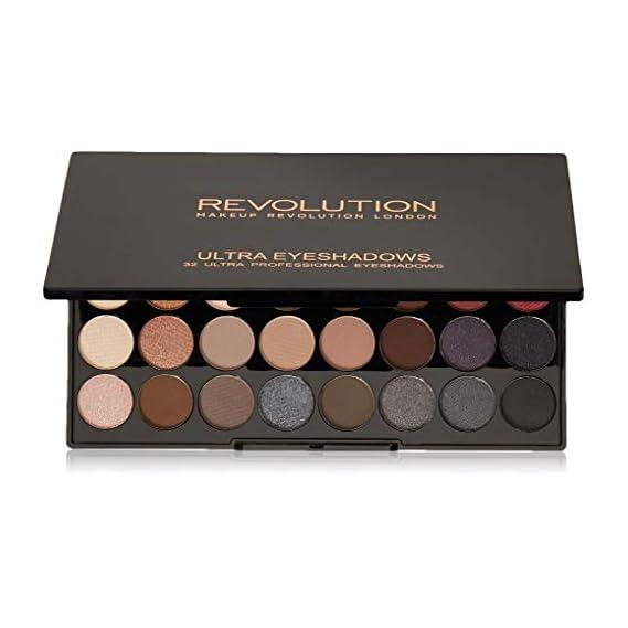 Makeup Revolution London Ultra 32 Eyeshadow Palette, Flawless 2, 20g