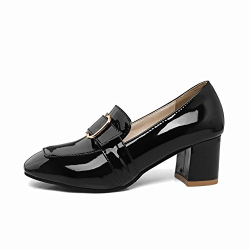 0abad322bca high-quality Latasa Women s Chunky Heels Monk Strap Loafers Shoes ...