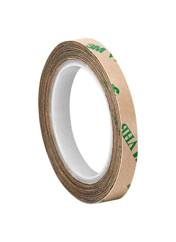 (3M F9469PC Adhesive Transfer Tape, 0.375