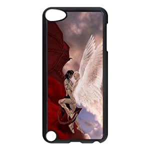 TOSOUL Customized Print Fantasy Angel Pattern Hard Case for iPod Touch 5
