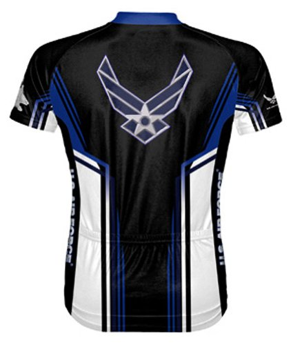 Primal-Wear-Air-Force-USAF-Team-Cycling-Jersey-Mens-Short-Sleeve-5XL