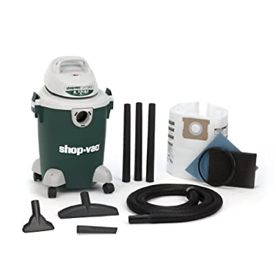 Shop-Vac 5980700 6-Gallon 2.75 Peak HP Quiet Plus Series Wet Dry Vacuum