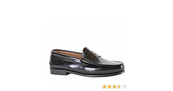 14cf3a70d9a Zapatos De Vestir Castellanos Artesanos Negro: Amazon.es: Zapatos y  complementos