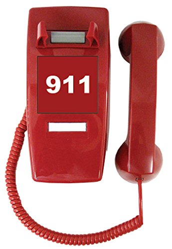 Emergency Handset Phone (Coil Cord)