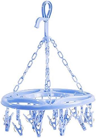 Hanging Trockner 18 Clips Pin Wäsche Kleiderbügel Unterwäsche Socken Fal N3W2 2X