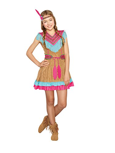 SugarSugar Girls/Tween Native Beauty Costume, One Color, ...