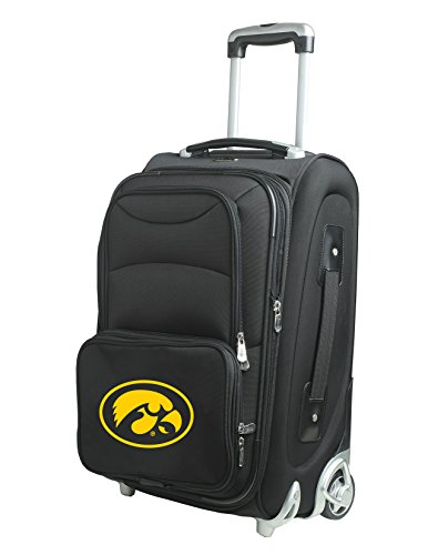 NCAA Iowa Hawkeyes 21-Inch Carry-On by Denco