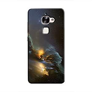 Cover It Up - Gold and Silver space Cloud Le 2 Hard case