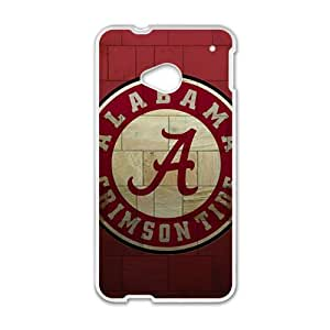 ZXCV Alabama Grimson Tide Fashion Comstom Plastic case cover For HTC One M7