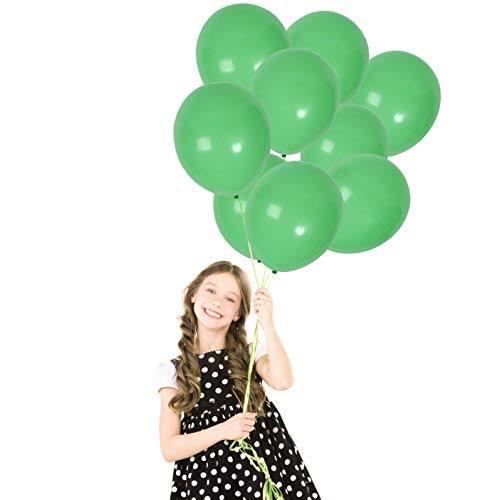 Treasures Gifted Light Lime Mint Green Matte Latex Balloons Birthday Decorations 12 Inch 72 Pack Kiwi Neon Party Supplies St Patrick Day Christmas Wedding Backdrop