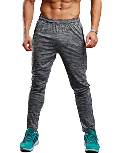 - TBMPOY Men's Essential Lightweight Woven Open Bottom Track Pant(02light Grey,us M)