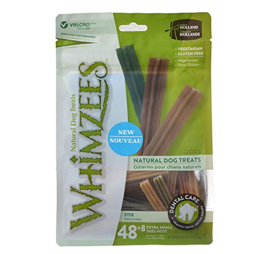 PARAGON 154113 Whimzees Stix Dental Treat for Dogs, Medium, 100 Count