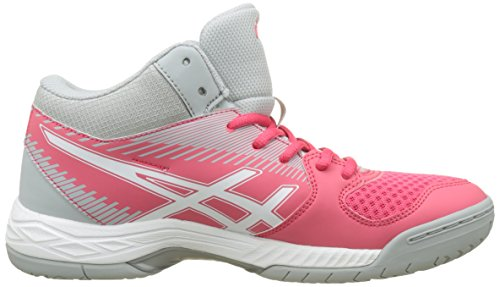 Asics Women's Gel-Task Mt Volleyball Shoes Rot (Rouge Red/White/Mid Grey) 4jca9QOvH