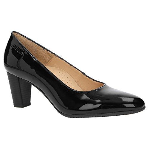 Court Shoes 214 Smuck Damen ZWEIGUT lackschwarz EwIt8tq