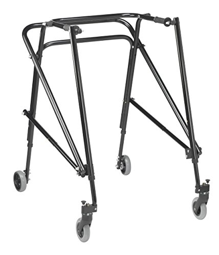 Inspired by Drive Nimbo 2G Lightweight Posterior Walker, Emperor Black
