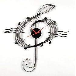 MZ Berger Musical Clef Clock