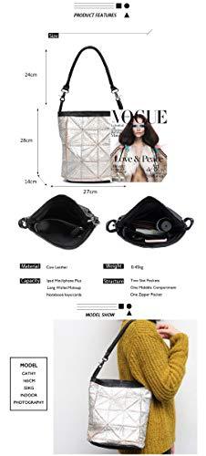 Style Leather Para Vintage Old De Black Bolsas Messenger Pequeños Bags Fashon Shoulder Cuero Mujeres q0pnSx
