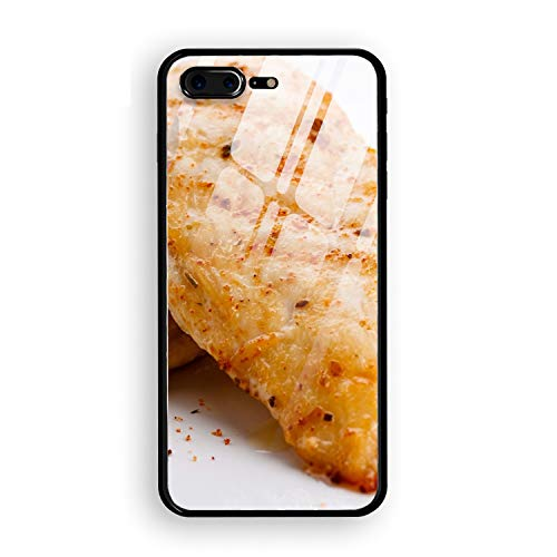 (iPhone 7/8 Plus Case Meat Lemon Seasoning Printed Hard PC Durable Rubber Protective Case Cover iPhone 8 Plus/iPhone 7 Plus 5.5 inch)