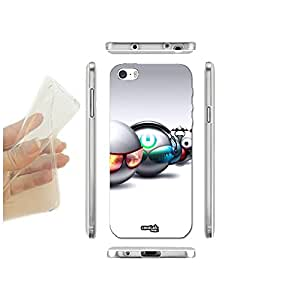 FUNDA CARCASA SLIM SFERE COOL PARA IPHONE 5 5S TPU