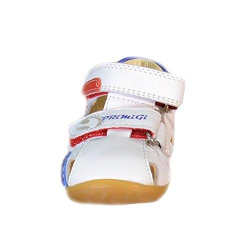 Primigi - Primigi Kinder Sandalen Weiss Leder 80460 Weiß