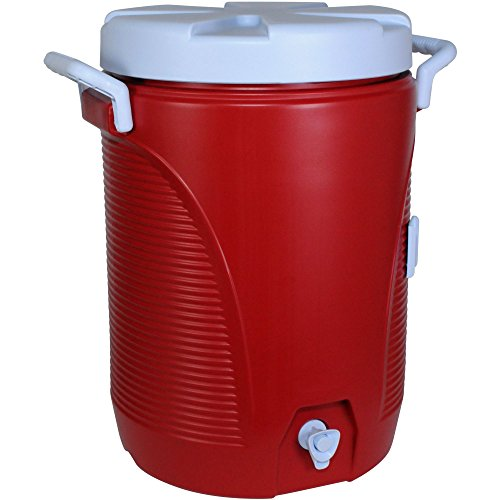 5 gallon water cooler red - 2