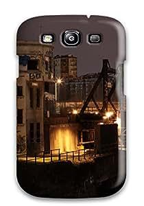 Hot 1347095K45958361 Hot Snap-on Une Vue A Partir Du Pont Wellington Hard Cover Case/ Protective Case For Galaxy S3
