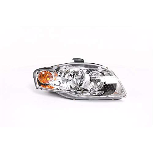 Right Driver Side Headlamp Front Head Light (With Amber Indicator Lamp +Motor):