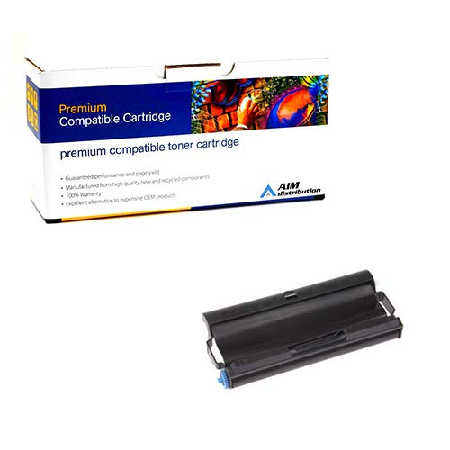 AIM Compatible Replacement for Brother FAX 575/878 Fax Imaging Film Cartridge (150 Page Yield) (PC-501) - Generic