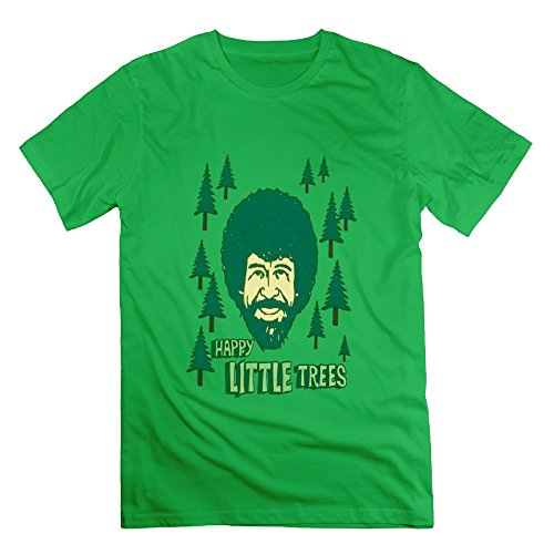 lianjian-bob-ross-happy-little-trees-mens-t-shirt-large-forestgreen-mens