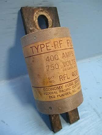 federal fuse box economy fuse division rfl 400 type rf fuse 400 amp 750 volts 400a  economy fuse division rfl 400 type rf