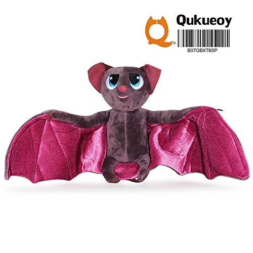 Qukueoy Vampire Bat Plush Toys Movie Hotel Characters,Soft Bat Figure Toy for Kids, 7