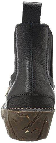 Grain Damen Naturalista Black Chelsea El Yggdrasil N158 Boots Soft 5qwddIC